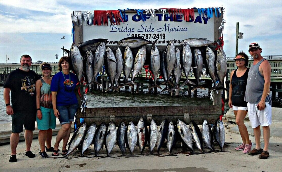 Pure pleasure offshore fishing charters pure pleasure for Louisiana fish and game